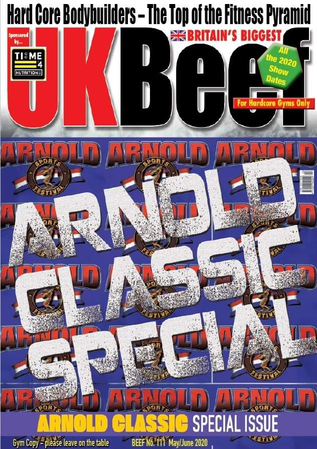 2020 arnold classic ohio UK BEEF
