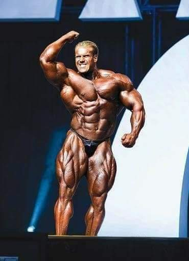 jay cutler sul palco del mister olympia 2006