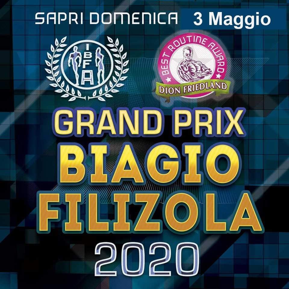 grand prix biagio filizola 2020
