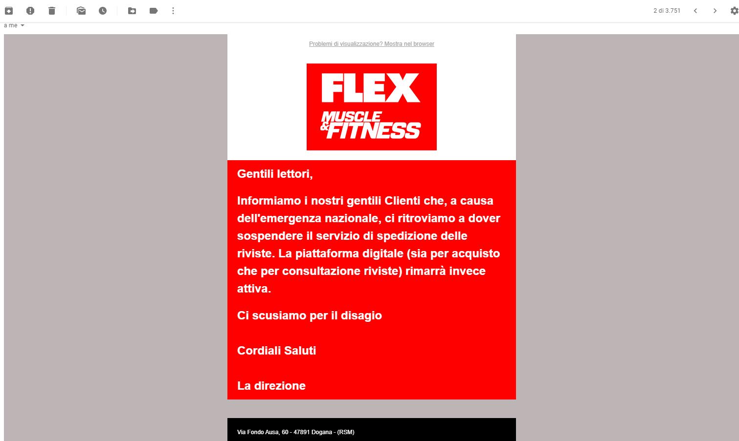 flex-magazine-blocca-pubblicazioni-causa-corona-virus