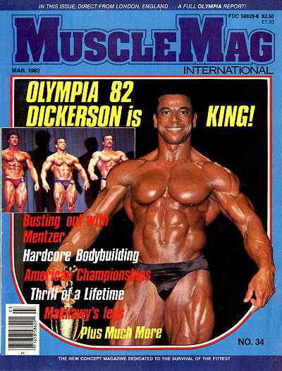 1982 Mr. Olympia Chris Dickerson