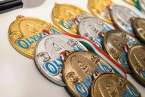 le medaglie del 2016 olympia amateur san marino ifbb