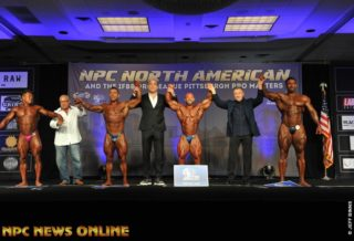 2019 NORTH AMERICAN CHAMPIONSHIPS overall bodybuilding