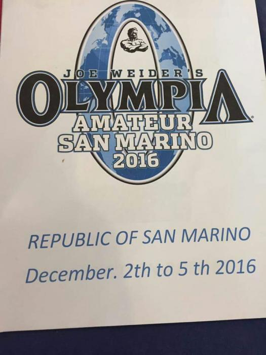 2016 san marino pro ifbb