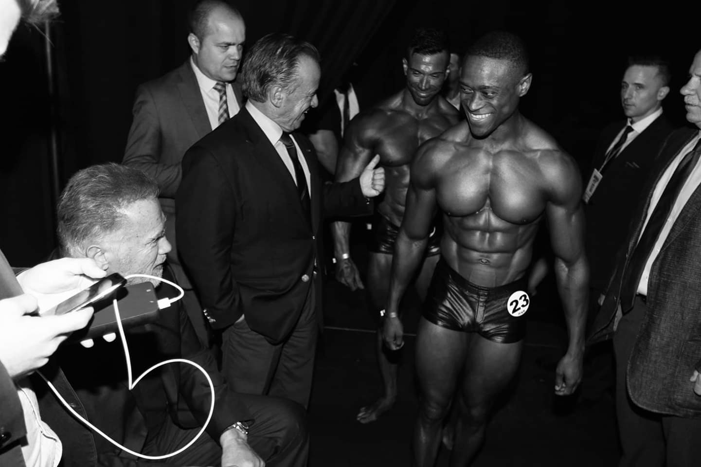 2019 arnold classic europe backstage