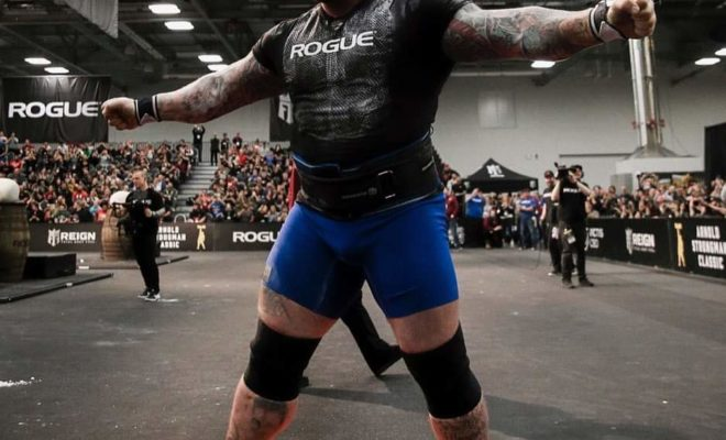 2020 arnold classic ohio strongman