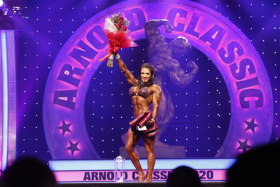 Women's Physique International winner Natalia Abraham Coelho photo by Dave Emery