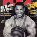 Mike Christian pro ifbb sulla cover della rivista flex magazine