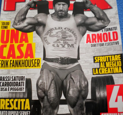 Erik Fankhouser flex magazine cover in italianojpg