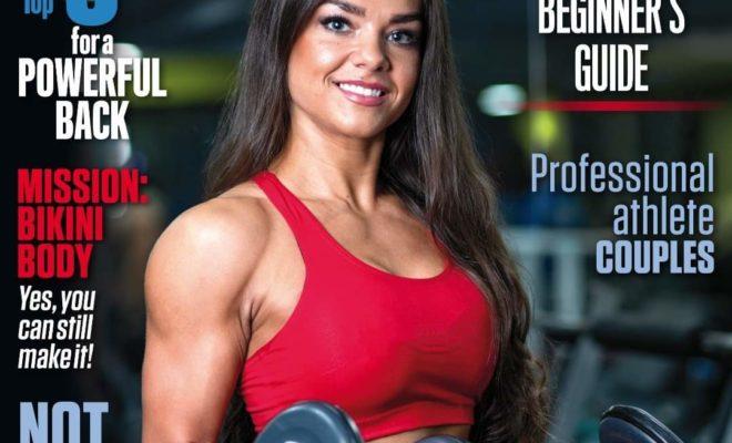 cover della rivista di Muscle & health di maggio giugno 2020