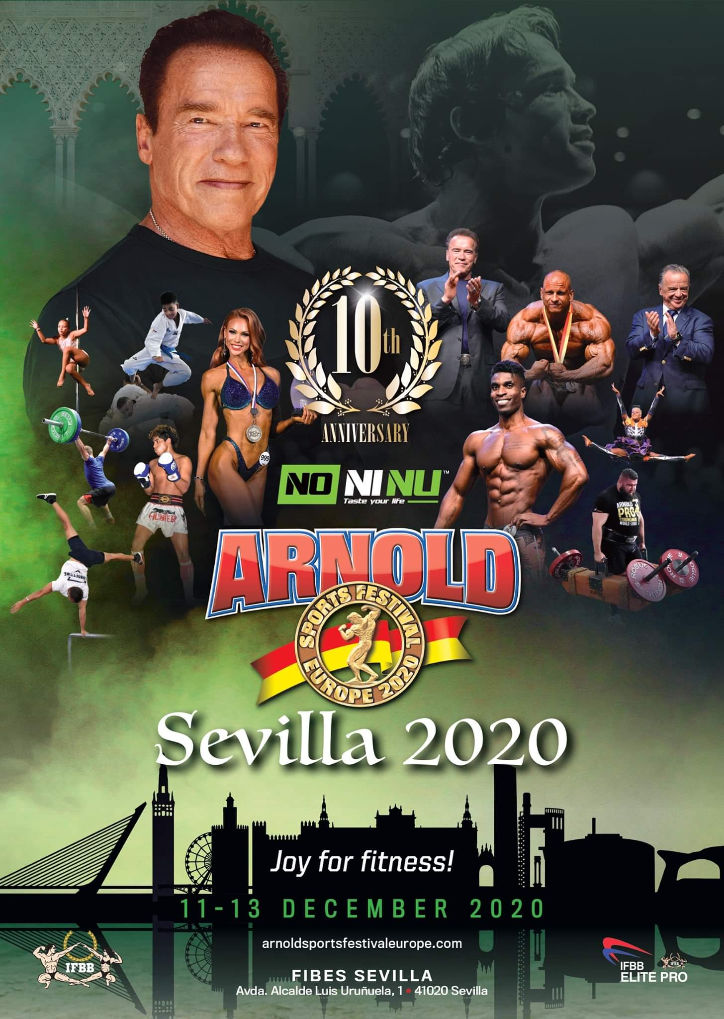 2020 arnold classic europe nuove date
