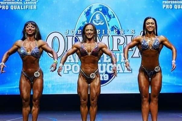 flora conte pro ifbb Olympia Amateur 2019