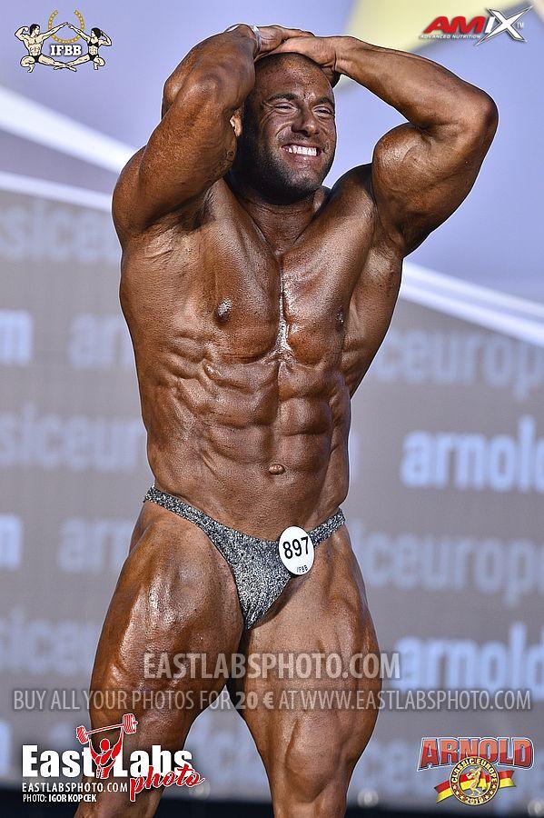 Tony Mancino arnold classic europe amateur 2019 addome e gambe