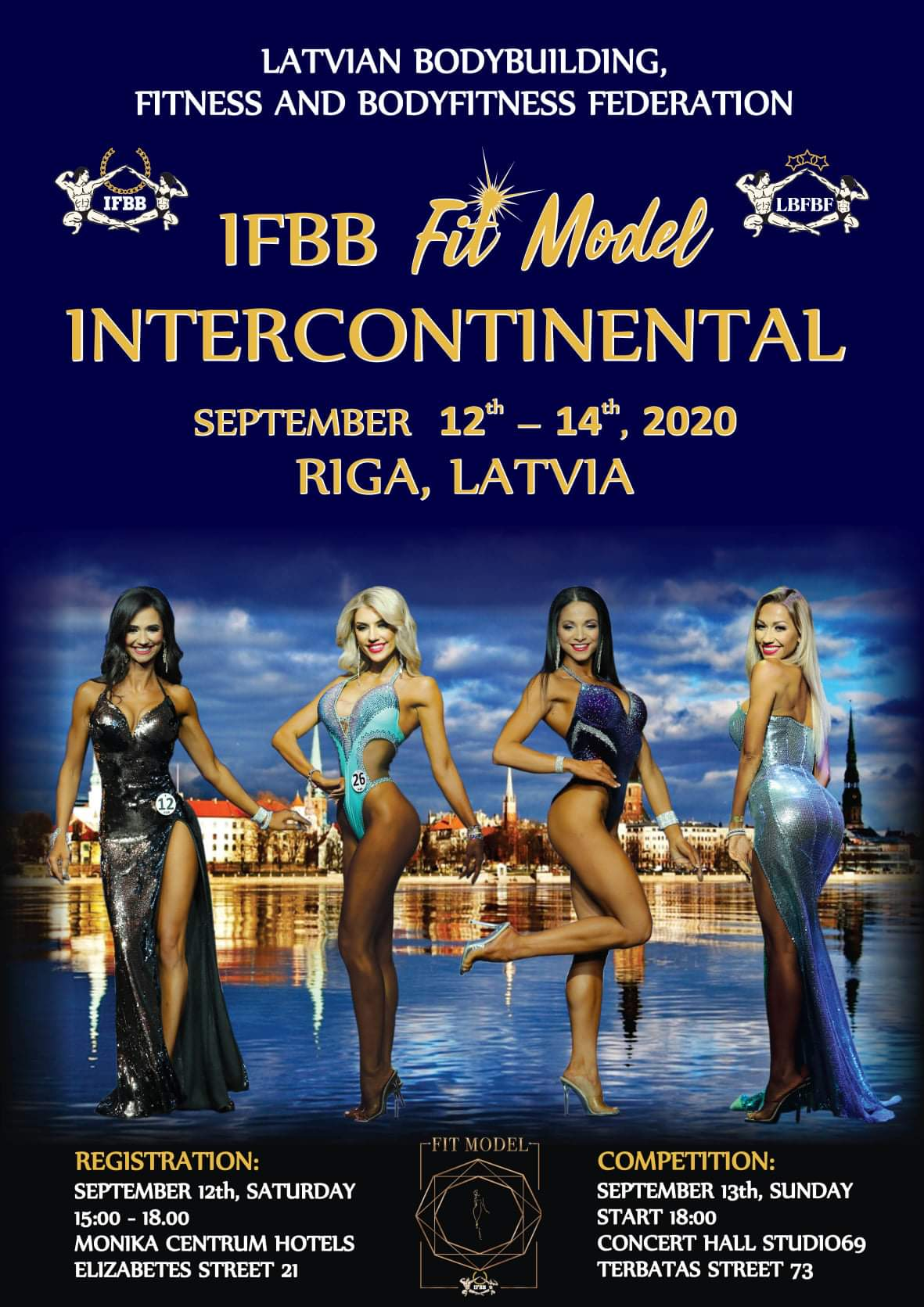 ifbb fit model intercontinental 2020 nuove date