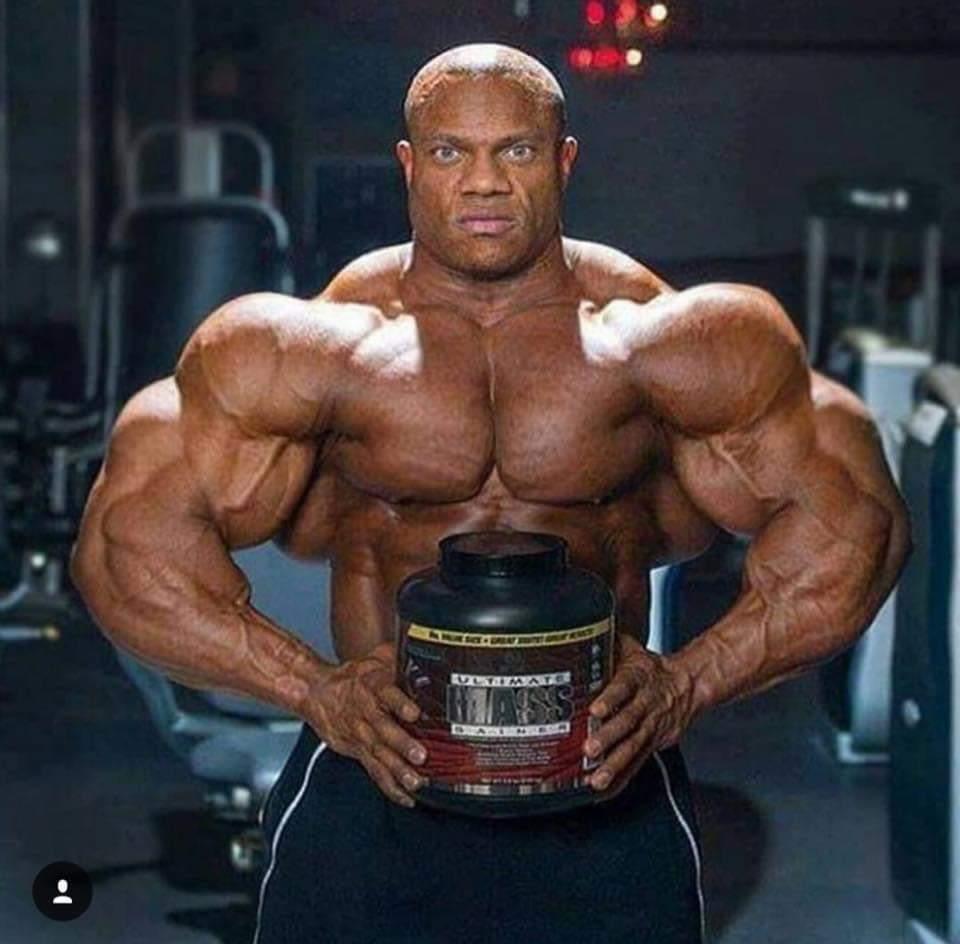 Phil Heath e le proteine