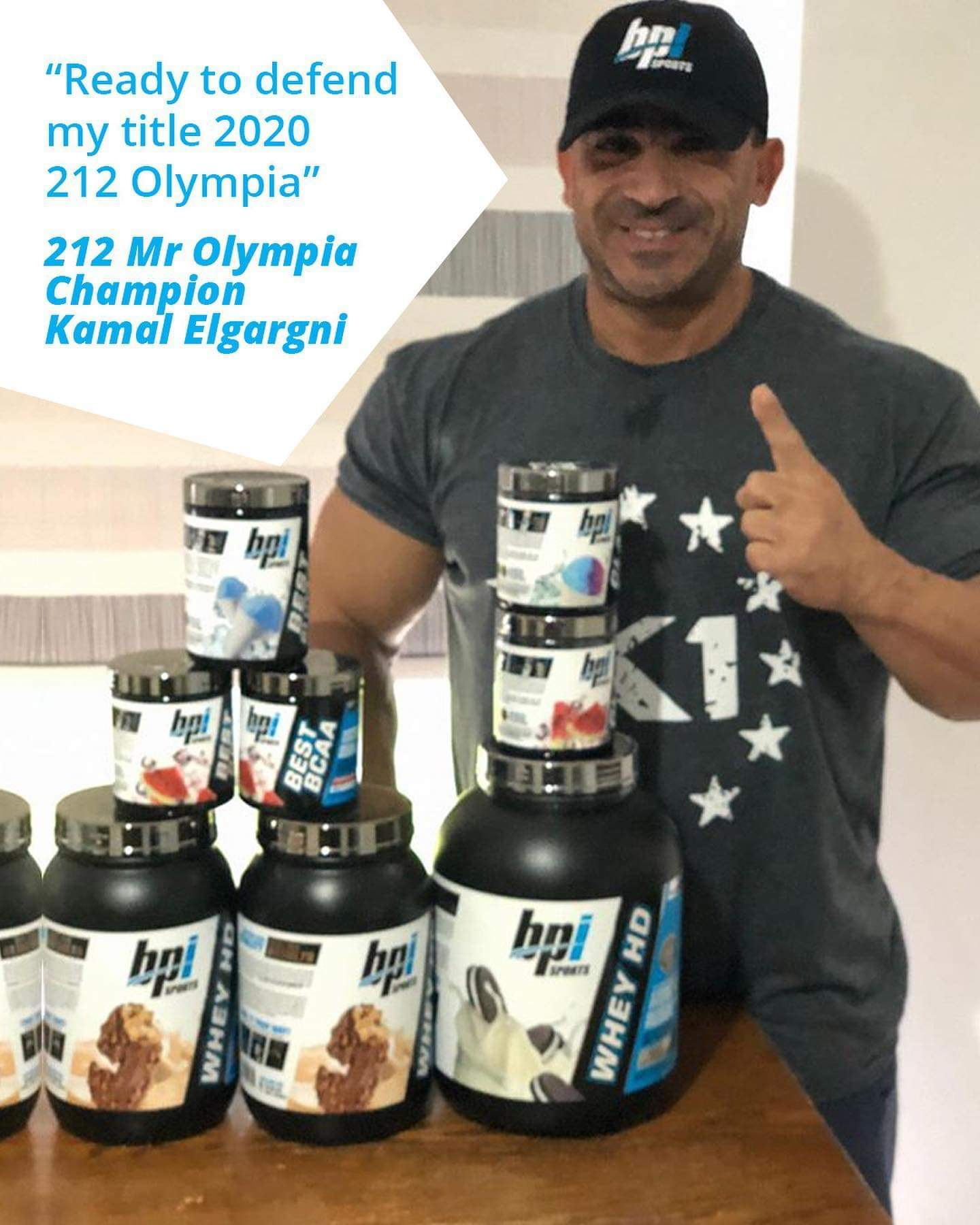 KAMAL ELGARGNI PRO IFBB del 10 luglio 2020 offseason road to mister olympia 2020