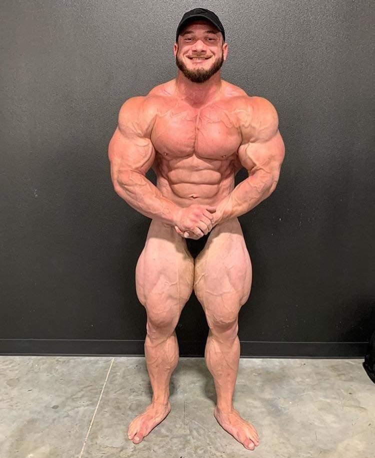 Hunter Labrada pro ifbb a 5 settimane dalla gara in tampa most muscolar