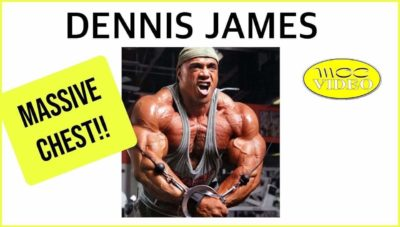 Dennis James - CHEST WORKOUT DVD This is the Way I Do It!