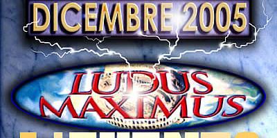 LOCANDINA LUDUS MAXIMUS IFBB 2005