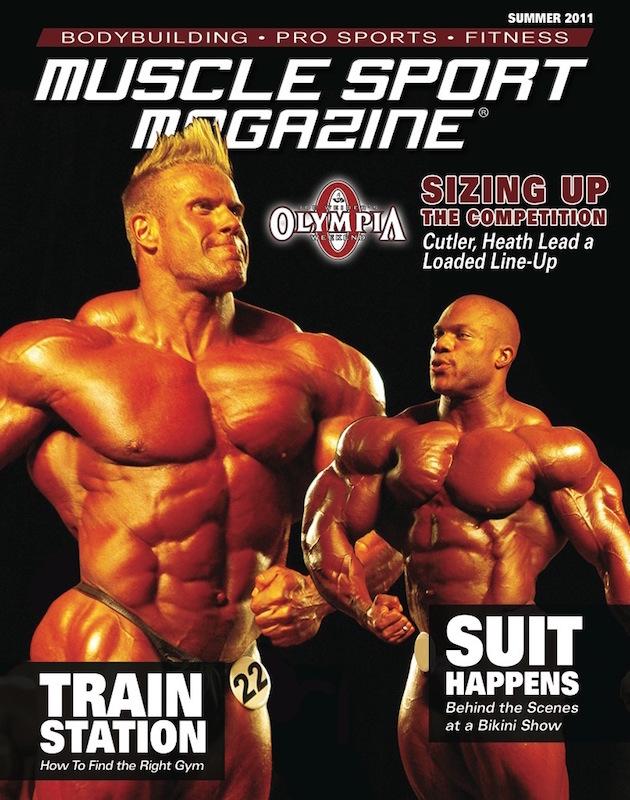 le cover delle riviste del settore di bodybuilding dedicate a PHIL HEATH muscle sport magazine