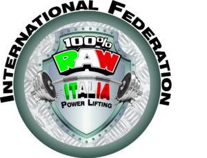 100% raw italia logo