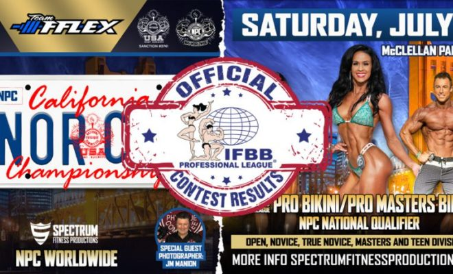 2020 IFBB NORTHERN CALIFORNIA PRO full results