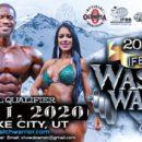 2020 IFBB WASATCH WARRIOR PRO locandina