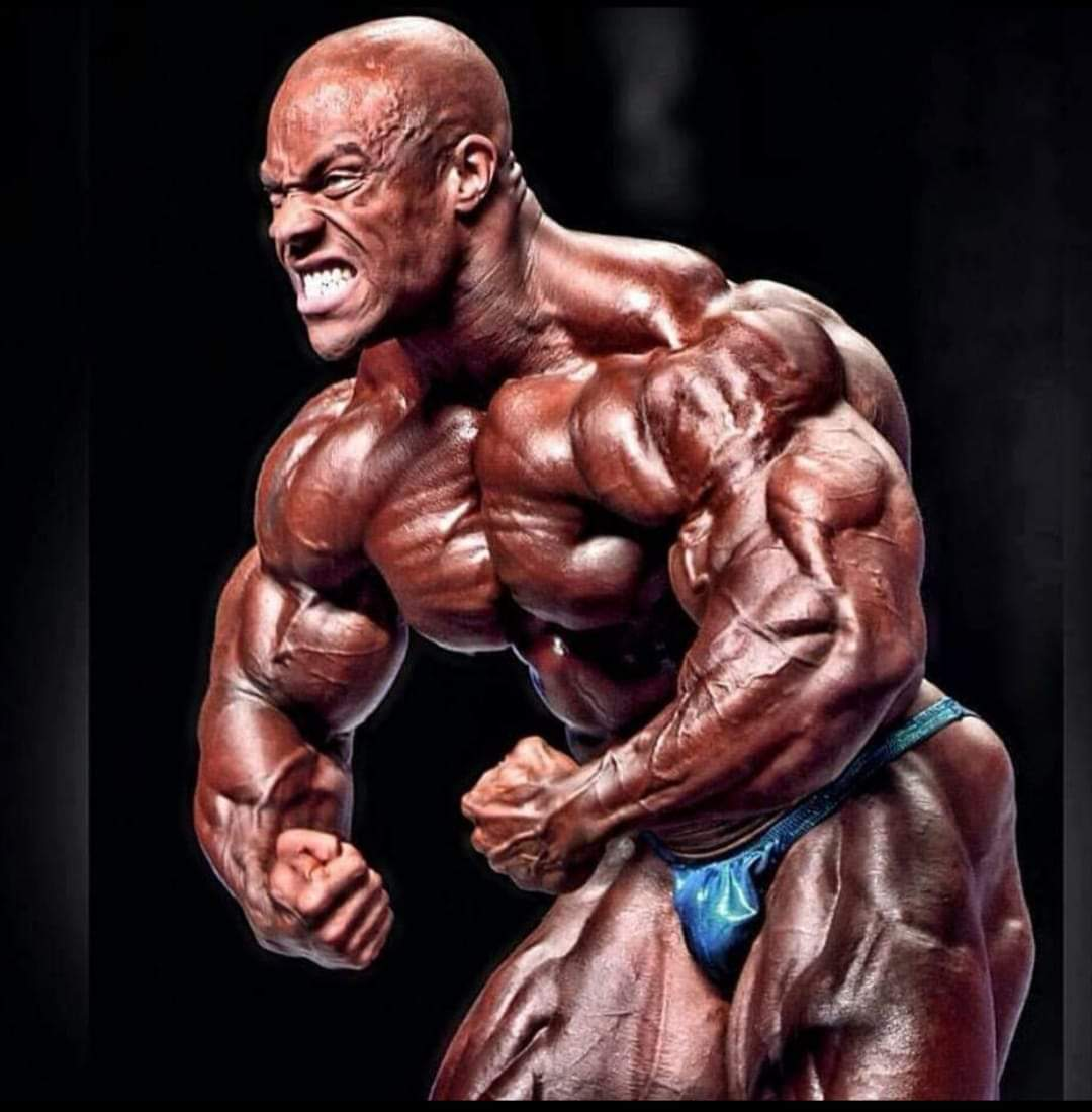 heath 7 volte mr olympia posa most muscolar