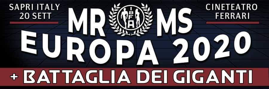 mister & miss europa 2020