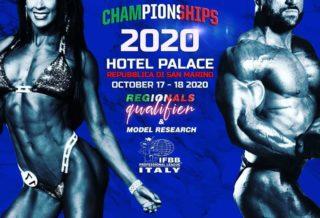 italian championships 2020 ifbb pro league italy