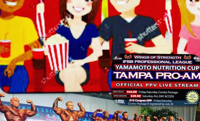 streaming tampa pro ifbb 2020