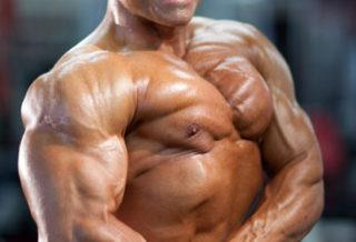 Derik Farnsworth pro ifbb side chest