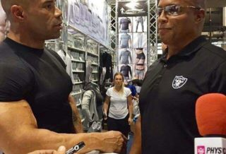 kevin levrone e shawn ray all'expo dell'arnold classic europe 2016