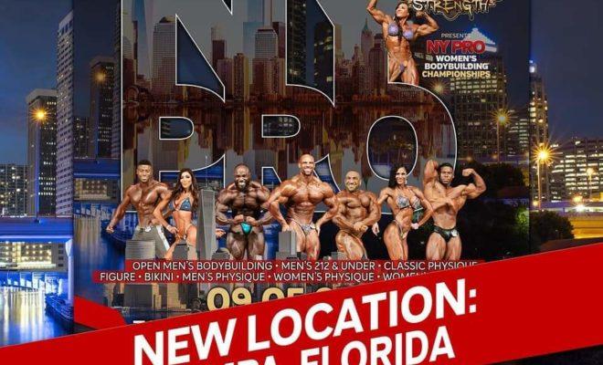 2020 new york pro ifbb spostato in florida