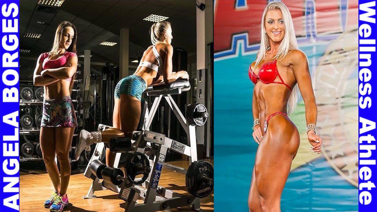 ANGELA BORGES atleta wellness