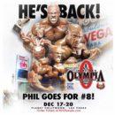 il ritorno di Philip Heath sul palco del mister olympia 2020