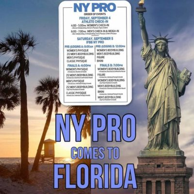 2020 new york pro ifbb in florida