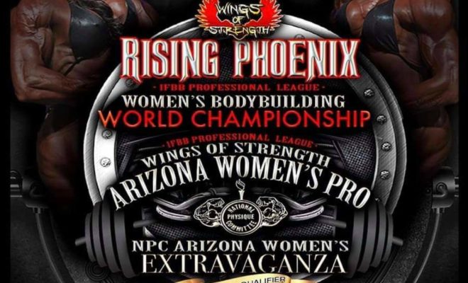 nuove date del Rising Phoenix 2020 pro ifbb