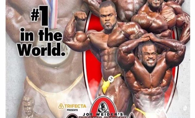 brandon curry sul poster del mister olympia 2020