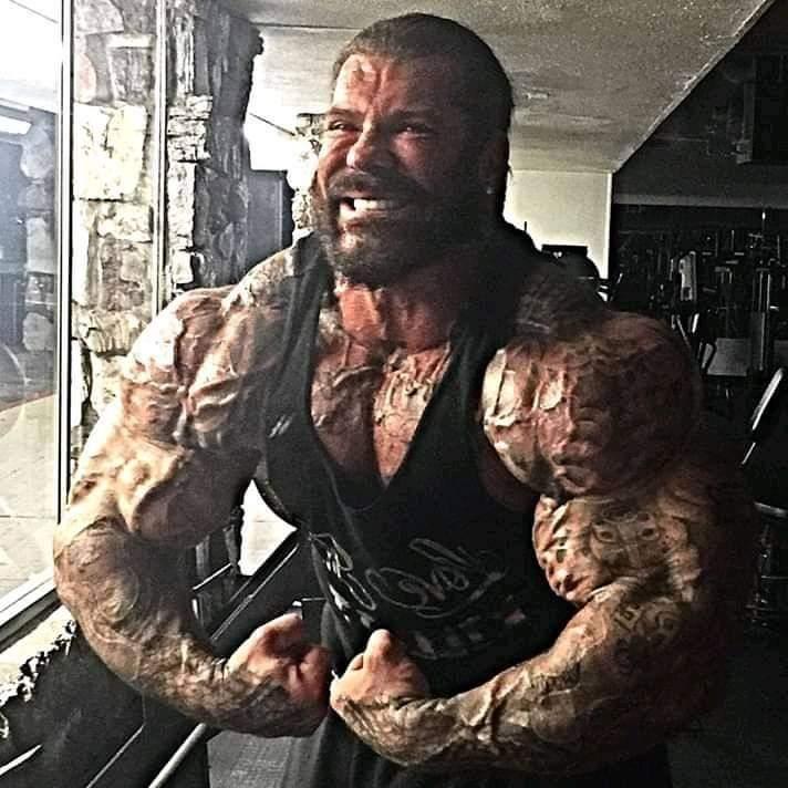 la most muscular di rich piana