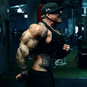 rich piana in palestra