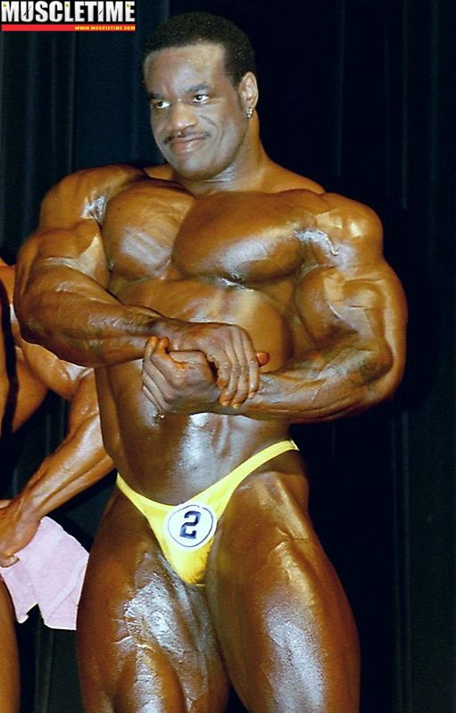 On Stage At 2001 Arnolds Classic 19 chris cormier