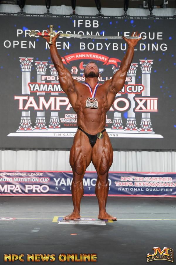 hunter labrada vince il tampa pro show 2020 nel bodybuilding
