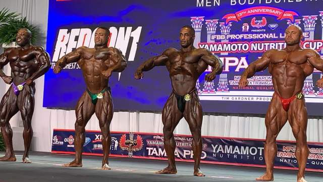 2020 tampa pro ifbb first callout 212 division rilassata frontale