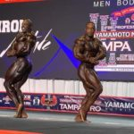 2020 tampa pro ifbb first callout 212 divison side chest pose