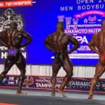 2020 tampa pro ifbb first callout 212 divison apertura dorsali di schiena pose