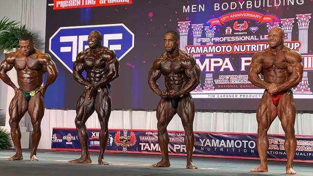 2020 tampa pro ifbb first callout 212 divison most muscular pose