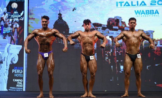 CAMPIONATO ITALIANO WABBA MEN JUNIOR BODYBUILDING