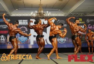 2020 new york pro ifbb confronti men's classic physique