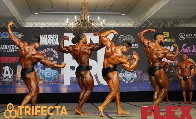 2020 new york pro ifbb confronti men's classic physique